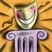 The Art Of Smiling Art Print