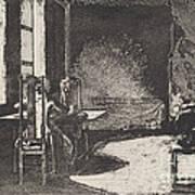 The Artist In His Mother's Room, Danzig Art Print