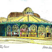 The Asbury Park Casino Art Print