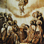 The Ascension Of Christ Art Print