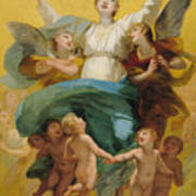 The Assumption Of The Virgin Art Print