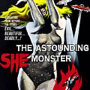The Astounding She-monster, 1-sheet Art Print