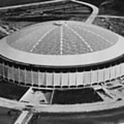 The Astrodome Aka The Eighth Wonder Print by Everett