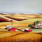 The Aune Farm Art Print
