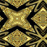 The Aztec Golden Treasures Art Print