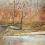 The Back Field Creek Art Print