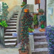 The Back Stairs Art Print