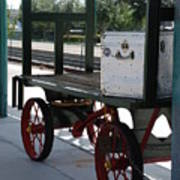 The Baggage Cart And Truck Art Print