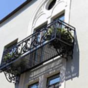 The Balcony Art Print