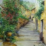 The Balearics Typical Spain Art Print