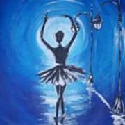 The Ballerina Dance Art Print