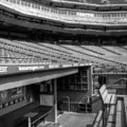 The Ballpark In Arlington Art Print by Ricky Barnard
