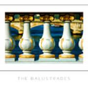 The Balustrades Poster Art Print