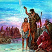 The Baptism Of Jesus Art Print