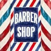 The Barber Shop Art Print