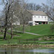 The Barn Along The Tulpehocken Art Print
