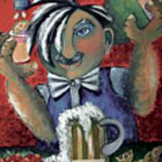 The Bartender Art Print