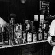 The Bartender Is Back - Prohibition Ends Dec 1933 Art Print