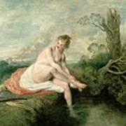 The Bath Of Diana Art Print