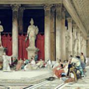 The Baths Of Caracalla Art Print