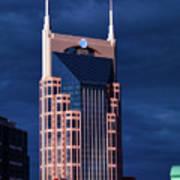 The Batman Building - Nashville Art Print
