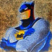 The Batman - Pa Art Print