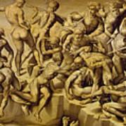 The Battle Of Cascina Art Print