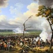 The Battle Of Hanau Art Print