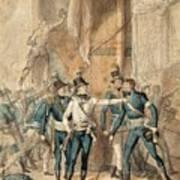 The Battle Of Hogland Art Print