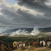 The Battle Of Jemappes Art Print