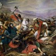The Battle Of Poitiers Art Print