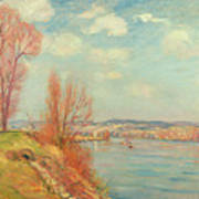 The Bay And The River Art Print by Jean Baptiste Armand Guillaumin