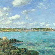 The Bay Of Douarnenez Art Print