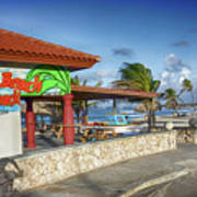 The Beach - Arashi Beach - Aruba - West Indies Art Print