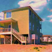 The Beach House Art Print