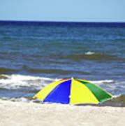 The Beach Is Mine Art Print