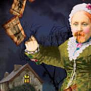 The Bearded Lady's Dream Art Print
