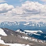 The Beartooth Mountains Art Print