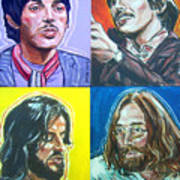 The Beatles - Montage Art Print