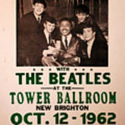 The Beatles And Little Richard Poster Collection 6 Art Print