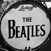 The Beatles Drum Art Print