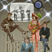 The Beatles Art Print by Marshall Robinson
