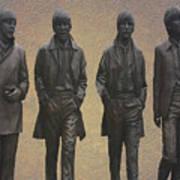 The Beatles N F Art Print