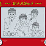 The Beatles Art Print by Ron Magnes