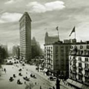 The Beautiful Flatiron Building Circa 1902 Art Print