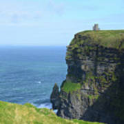 The Beauty Of Ire'land's Cliff's Of Moher In County Clare Art Print