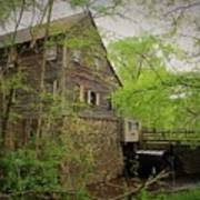 The Beauty Of The West Point On The Eno Grist Mill - Durham, N.c. Art Print