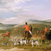 The Berkeley Hunt Print by Francis Calcraft Turner