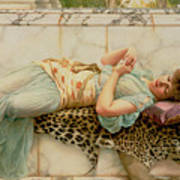 The Betrothed Art Print by John William Godward