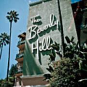 The Beverly Hills Art Print